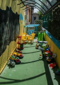 area attrezzata gioco bimbi
