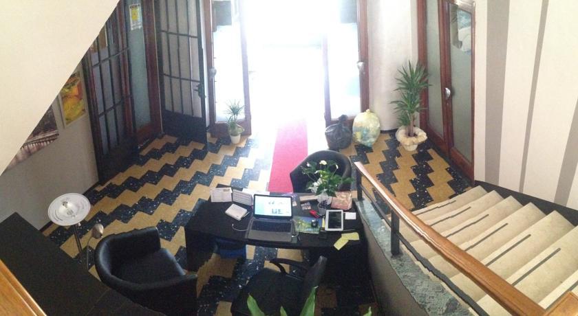 ingresso dell' hotel